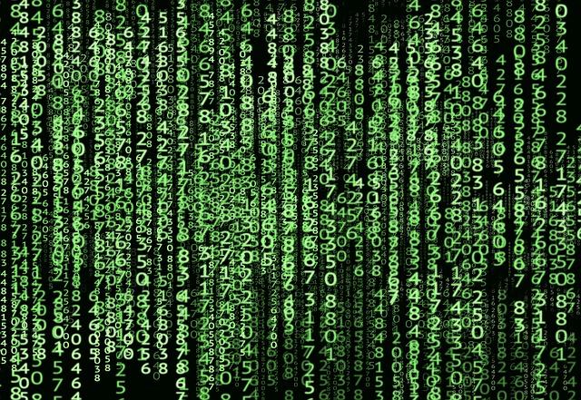 číselné data