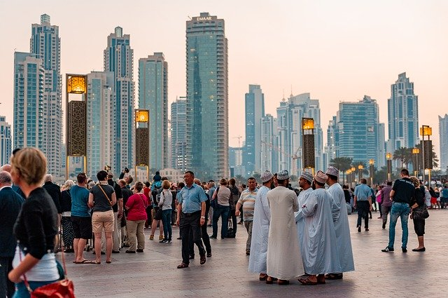 Dubai lidé