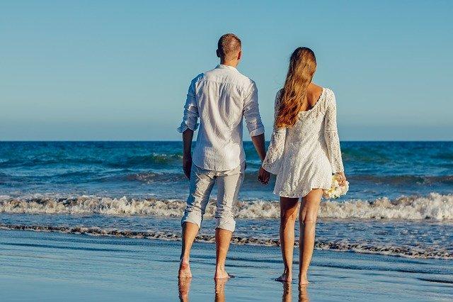 svatba u moře